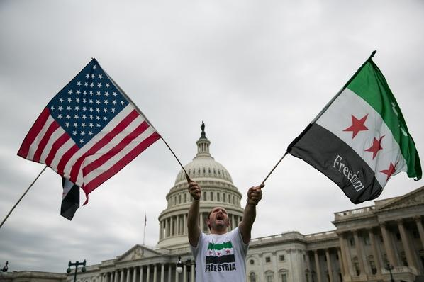 Rally on Capitol Hill Supports Possible U.S. Military Strike on Syria | Conflicts: Syria