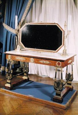 Dressing table belonging to Empress Josephine