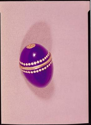 Necessaire in the shape of an egg, Sevres, 1775