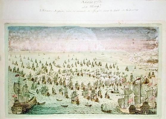 Siege of Mahon, 20th May 1756