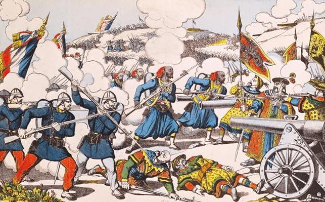 The Siege of Lang-Son, 13th February 1885