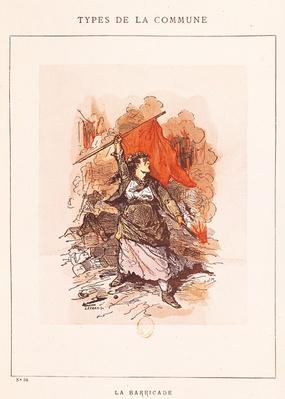 The Barricade, no.34 from 'Types de la Commune', 1871