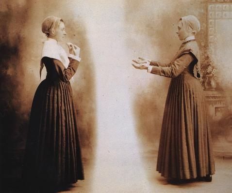 Shaker Sisters Demonstrate Dance Positions | Ken Burns: The Shakers
