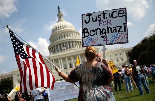 Conservatives Hold Call To Action Rally One Year After Benghazi Attacks | Arab Spring