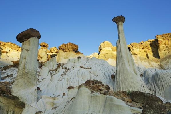 Sandstone Erosion Landscape at Wahweap Hoodoos | Earth's Surface