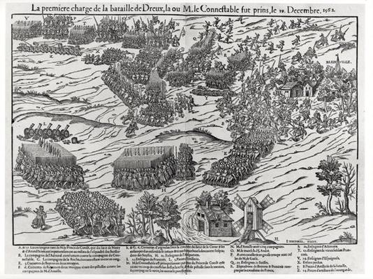 The Battle of Dreux, 19th December 1562