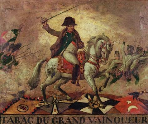 'Tabac du Grand Vainqueur', tobacconist's sign depicting Napoleon I
