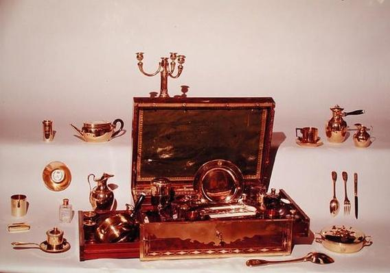 Necessaire belonging to Napoleon I