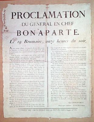 Proclamation of Napoleon I