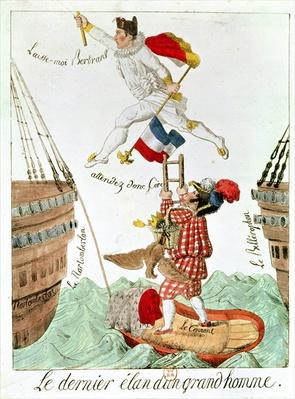 The Last Leap of a Great Man, 1815