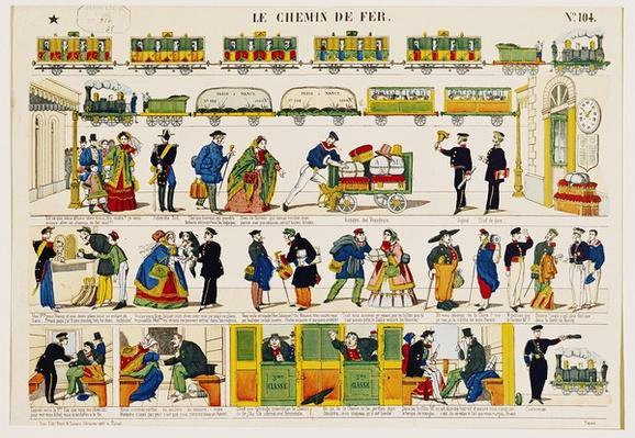 Rail Travel, c.1850