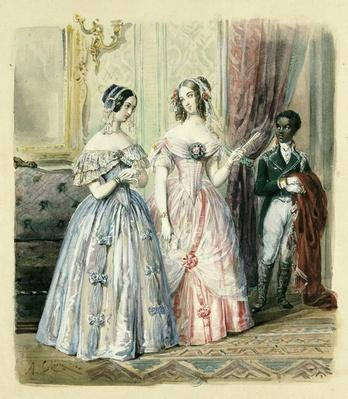 Leaving for the Ball, 1830-48
