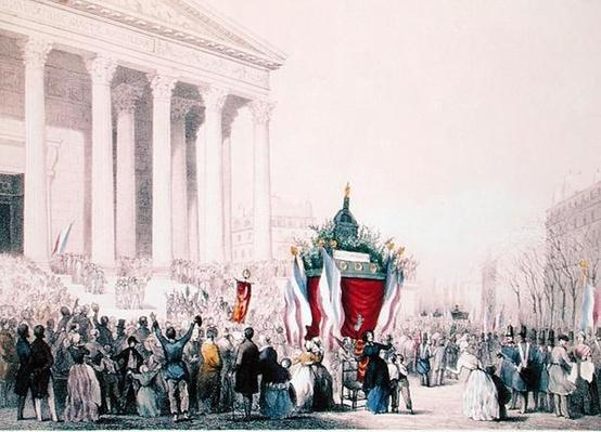 Funeral of the victims of the riots of February 1848 at the Church of La Madeleine, 4th March 1848