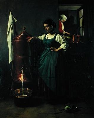 The Copper Drinking Fountain, 1861