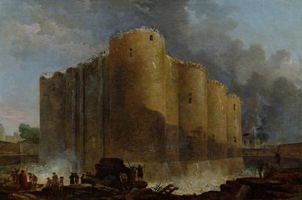 Demolition of the Bastille, 1789
