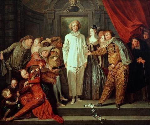 The Italian Comedians, c.1720