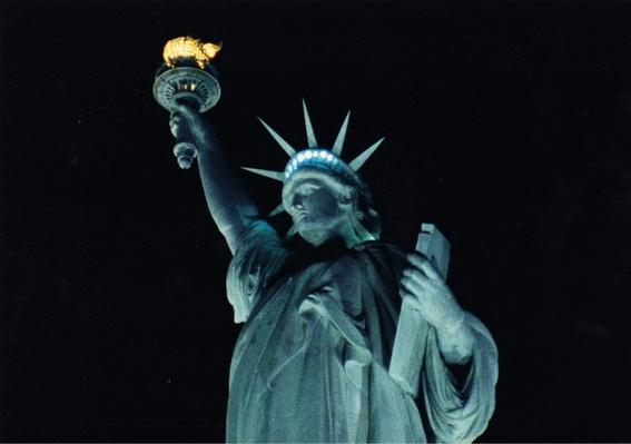 Close-Up of the Statue of Liberty at Night | Ken Burns: The Statue of Liberty At Night