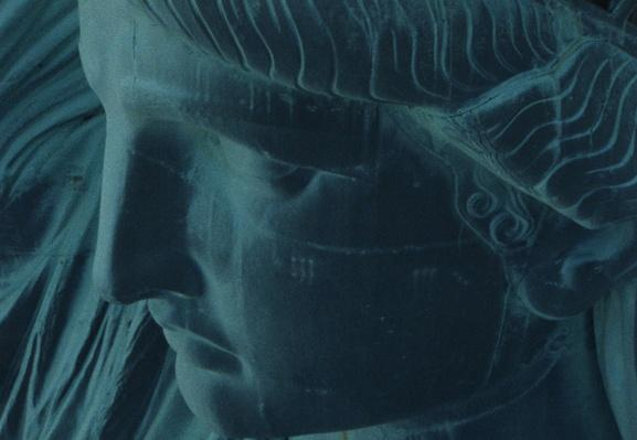 "Close-Up of ""Lady Liberty"" 