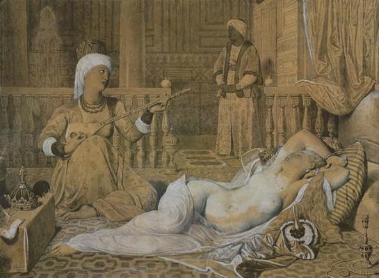 Odalisque with a Slave, 1858