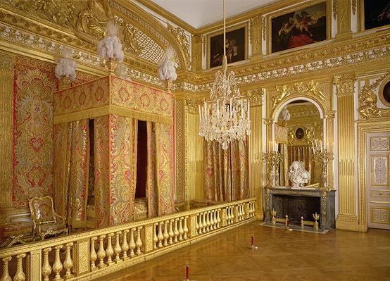 Interior of Louis XIV's bedroom, 1701-23