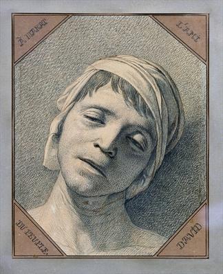 Head of Marat, 1793