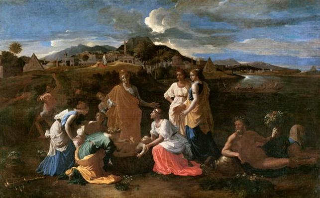 Moses Rescued from the Water, 1647
