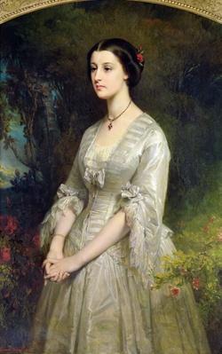 Portrait of Marie de Bonneval, Duchess of Cadore, 1854