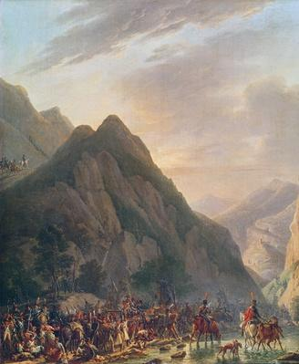 Passage of Mount Albaredo