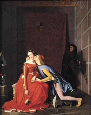 Francesca da Rimini and Paolo Malatesta, 1819