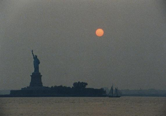 The Statue of Liberty Against a Hazy Sky | Ken Burns: The Statue of Liberty
