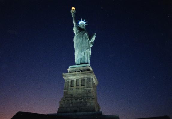 Statue of Liberty at Night | Ken Burns: The Statue of Liberty
