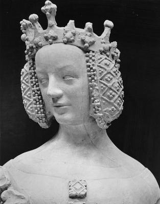 Copy of a statue of Isabella of Bavaria