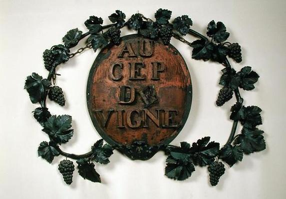 'Au Cep du Vigne', wine merchants sign