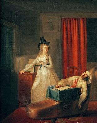 The Murder of Marat, 13th July 1793