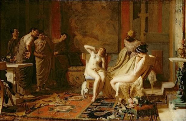 Female Slaves Presented to Octavian, 1883