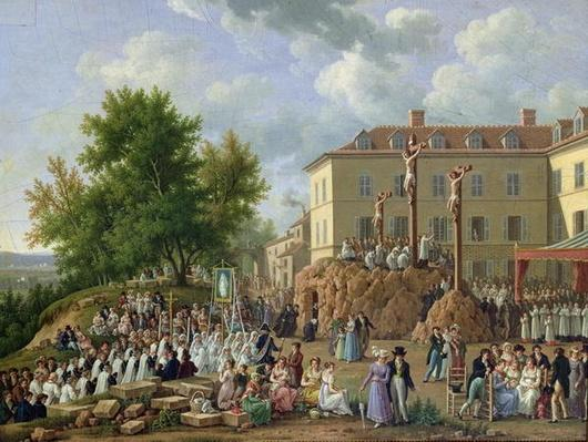 Religious Procession to Mont Valerien, 1819