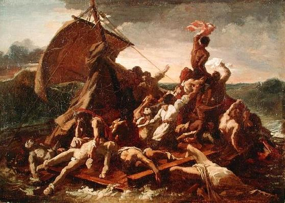 Study for The Raft of the Medusa, 1819