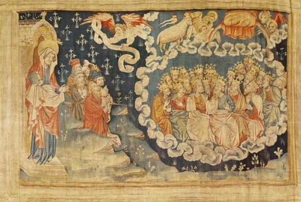 The Ascension of the Lamb, no. 48 from 'The Apocalypse of Angers', 1373-87
