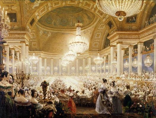 Women Dining at the Tuileries in 1835