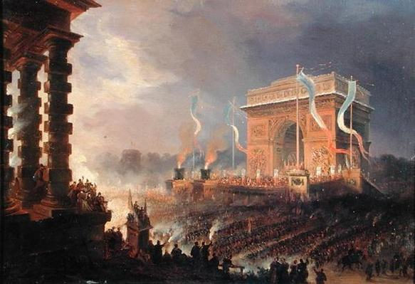 Festival of the Fraternity of the Arc de Triomphe, 24th April 1848