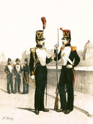 The Parisian Municipale Guard, formed 29th July 1830