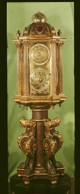 Planetary clock, completed in 1520