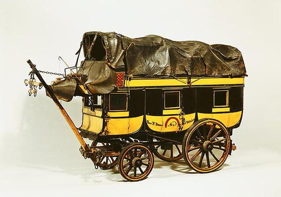 Model of a forty seat omnibus