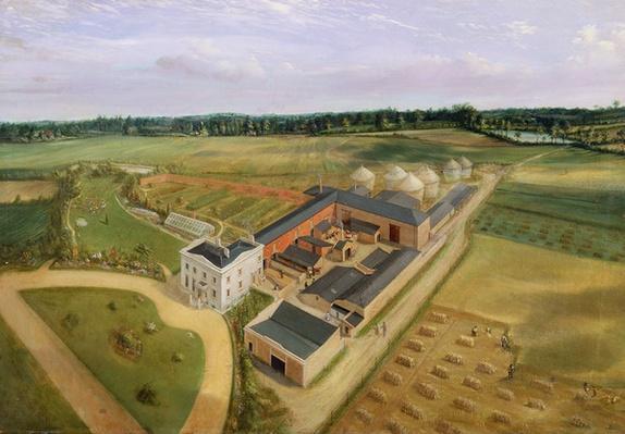 Tiptree Hall and Farm, Essex, c.1850-60