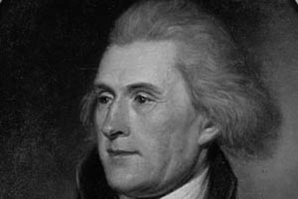 Portrait of Thomas Jefferson by Charles Willson Peale | Ken Burns: Thomas Jefferson