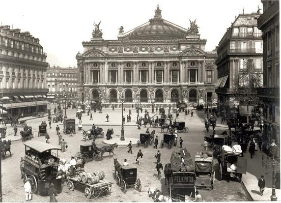 View of the Paris Opera House, 1890-99