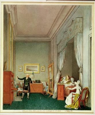 The Empress's Bedroom with the Duchesse de Montebello and Jean-Nicolas Corvisart
