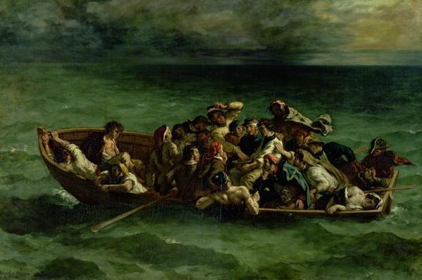 The Shipwreck of Don Juan, 1840