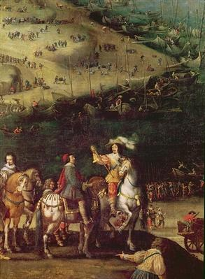 The Lifting of the Siege of the Ile de Re, 8th November 1627
