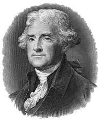 Engraving of Thomas Jefferson | Ken Burns: Thomas Jefferson
